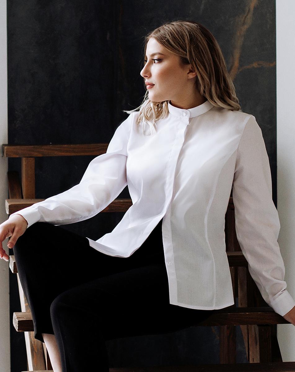 Белые  блузки  Анна