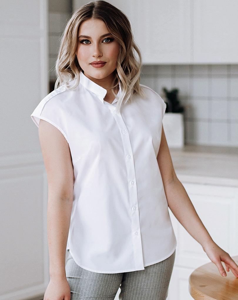 Белые  блузки  Лилия