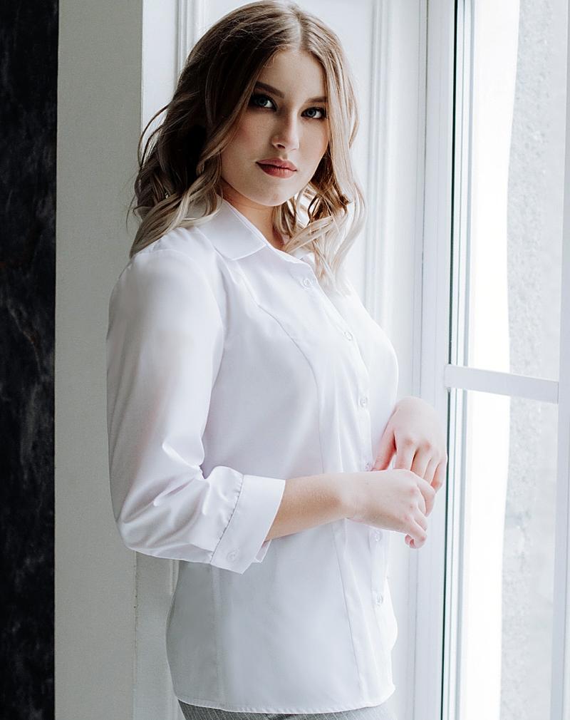 Белые  блузки  Луиза