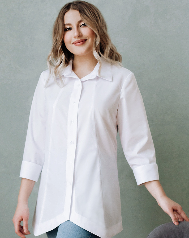 Белые  блузки  Маргарита