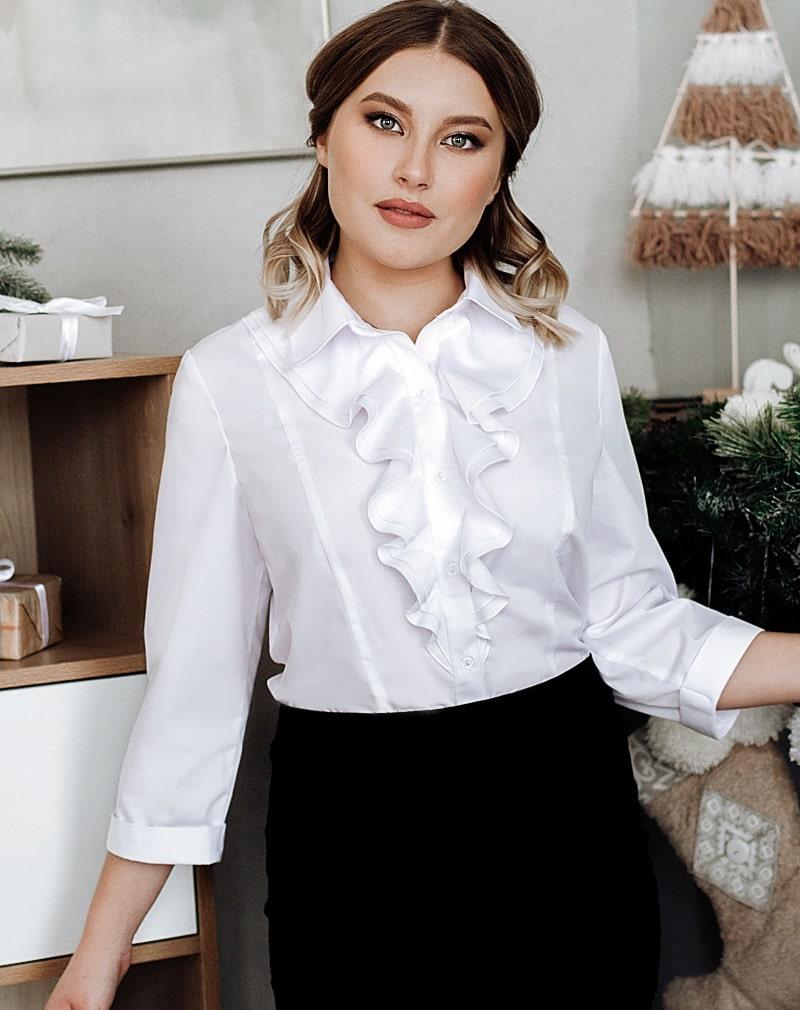 Белые  блузки  Натали