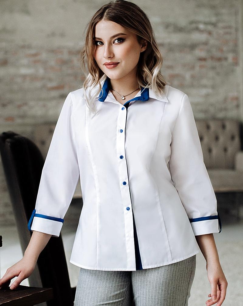 Белые  блузки  Тамара