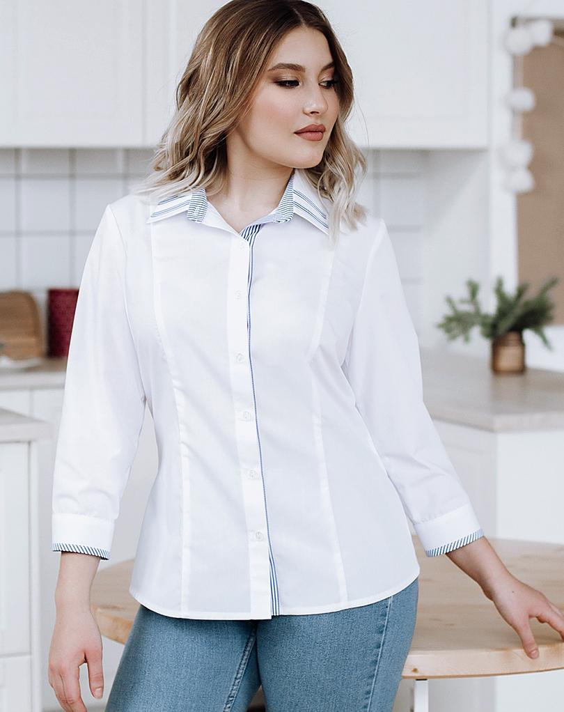 Белые  блузки  Элеонора